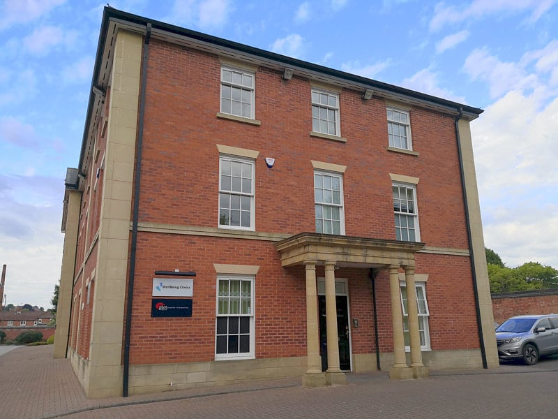 PBM Therapy Clinic Derby Building