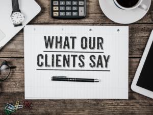 Testimonials PBM Therapy Patients